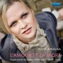 Iveta Apkalna - L'Amour et la Mort, SACD