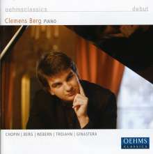 Clemens Berg,Klavier, CD