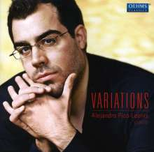 Alejandro Pico-Leonis - Variations, CD