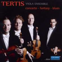 Tertis Viola Ensemble - Concerto.Fantasy.Blues, CD