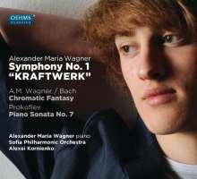 """Alexander Maria Wagner (geb. 1995): Symphonie Nr.1 """"Kraftwerk"""", CD"""