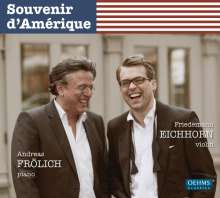 Friedemann Eichhorn - Souvenir d'Amerique, CD