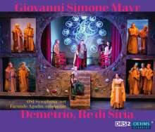 Johann Simon Mayr (1763-1845): Demetrio, Re di Siria, 2 CDs