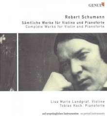 Robert Schumann (1810-1856): Werke für Violine & Klavier, 3 CDs