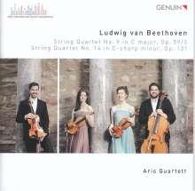 Ludwig van Beethoven (1770-1827): Streichquartette Nr.9 & 14, CD