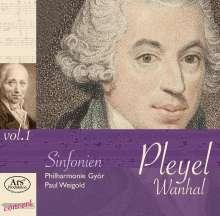Ignaz Pleyel (1757-1831): Symphonie C-Dur (B.151), CD