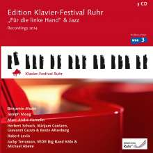 "Edition Klavier-Festival Ruhr Vol.33 - ""Für die linke Hand"" & Jazz, 3 CDs"