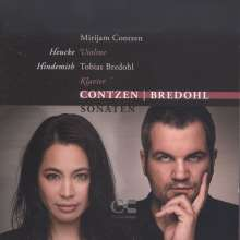 Mirijam Contzen & Tobias Bredohl - Contzen/Bredohl, CD