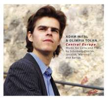 Adam Mital & Olimpia Tolan - Central Europe, CD