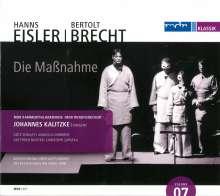 Hanns Eisler (1898-1962): Die Maßnahme, CD