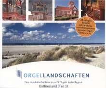 Orgellandschaften Vol.4 - Ostfriesland Teil 1, CD