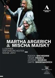 Martha Argerich & Mischa Maisky - Lucerne, DVD
