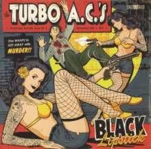 "The Turbo A. C.'s: Black Lipstick (Limited Ed.), Single 7"""