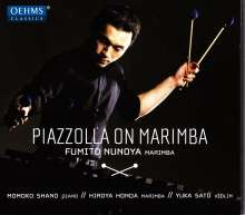 Fumito Nunoya - Piazzolla On Marimba, CD