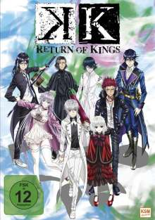 K - Return of Kings Vol. 1 (mit Sammelschuber), DVD