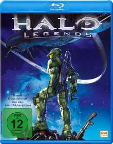Halo Legends (Blu-ray), Blu-ray Disc