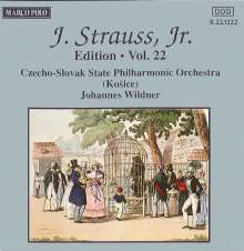 Johann Strauss II (1825-1899): Johann Strauss Edition Vol.22, CD