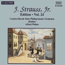 Johann Strauss II (1825-1899): Johann Strauss Edition Vol.24, CD