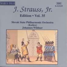 Johann Strauss II (1825-1899): Johann Strauss Edition Vol.35, CD