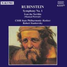 Anton Rubinstein (1829-1894): Sinfonie 1/Iwan D. Schr, CD