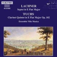 Franz Lachner (1803-1890): Septett Es-dur, CD