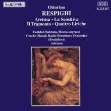 Ottorino Respighi (1879-1936): Kantaten, CD