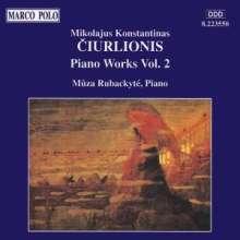 Mikalojus Konstantinas Ciurlionis (1875-1911): Klavierwerke Vol.2, CD