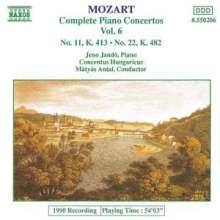 Wolfgang Amadeus Mozart (1756-1791): Klavierkonzerte Nr.11 & 22, CD