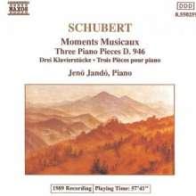 Franz Schubert (1797-1828): Moments Musicaux D.780, CD