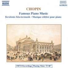 "Frederic Chopin (1810-1849): Klavierwerke ""Famous Piano Music"", CD"