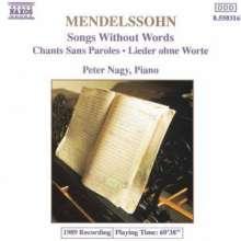 Felix Mendelssohn Bartholdy (1809-1847): Lieder ohne Worte Vol.1, CD