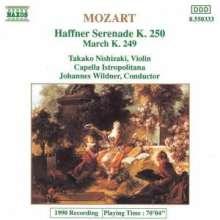 "Wolfgang Amadeus Mozart (1756-1791): Serenade Nr.7 ""Haffner"", CD"