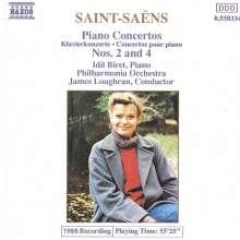 Camille Saint-Saens (1835-1921): Klavierkonzerte Nr.2 & 4, CD