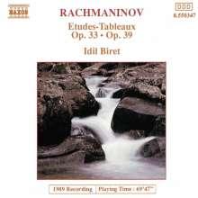 Sergej Rachmaninoff (1873-1943): Etudes-Tableaux op.33 & op.39, CD