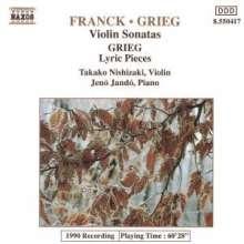Edvard Grieg (1843-1907): Sonate f.Violine & Klavier Nr.3, CD