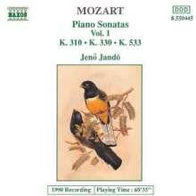 Wolfgang Amadeus Mozart (1756-1791): Klaviersonaten Nr.8,10,15, CD