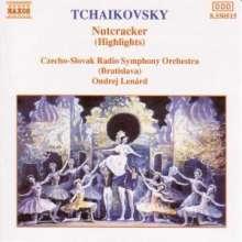 Peter Iljitsch Tschaikowsky (1840-1893): Der Nußknacker op.71 (Ausz.), CD