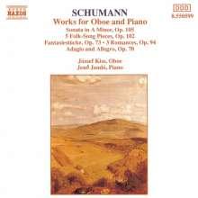 Robert Schumann (1810-1856): Werke für Oboe & Klavier, CD