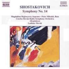 Dimitri Schostakowitsch (1906-1975): Symphonie Nr.14, CD