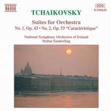 Peter Iljitsch Tschaikowsky (1840-1893): Suiten Nr.1 & 2, CD