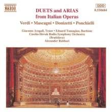 Giacomo Aragall singt Arien & Duette, CD
