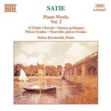 Erik Satie (1866-1925): Klavierwerke Vol.2, CD