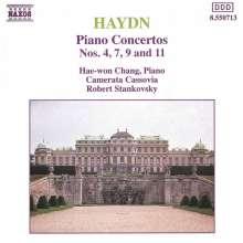 Joseph Haydn (1732-1809): Klavierkonzerte H18 Nr.4,7,9,11, CD