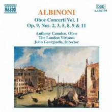 Tomaso Albinoni (1671-1751): Oboenkonzerte op.9 Nr.2,3,5,8,9,11, CD