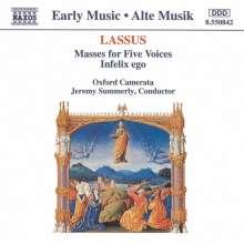 """Orlando di Lasso (Lassus) (1532-1594): Missa """"Entre vous filles"""", CD"""