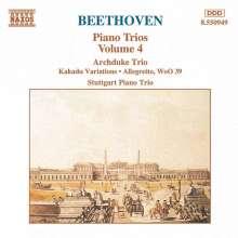 Ludwig van Beethoven (1770-1827): Klaviertrios Nr.7,8,11, CD