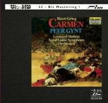 Georges Bizet (1838-1875): Carmen-Suiten Nr.1 & 2 (Ultra-HD-CD), CD