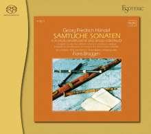 Georg Friedrich Händel (1685-1759): Flötensonaten op.1 Nr.1b,2,4,5,7,11, SACD