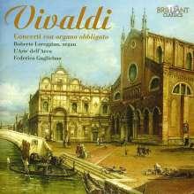 Antonio Vivaldi (1678-1741): Konzerte mit Orgel (Concerti con Organo obligato), CD