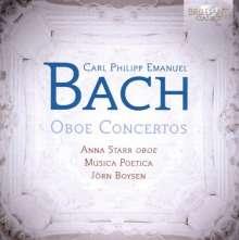 Carl Philipp Emanuel Bach (1714-1788): Oboenkonzerte Wq.164 & 165, CD
